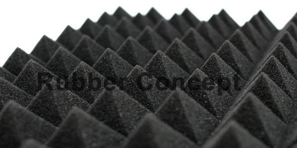 Acoustic PU foam for recording studio